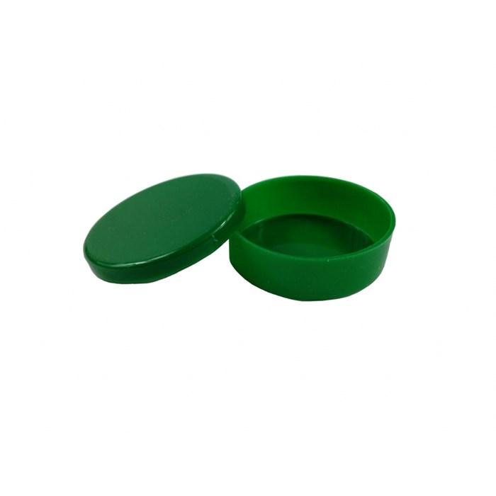 Lata Plástica 5x1cm 000958 Verde