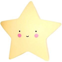 Luminária com Led 15x15cm Estrela LL02 Amarela