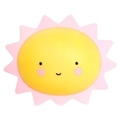 Luminária com Led 16x13cm LL18 Sol Sorrindo