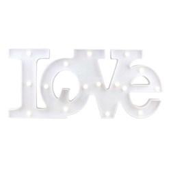 Luminária com Led 54x21cm LL10 Love Branco