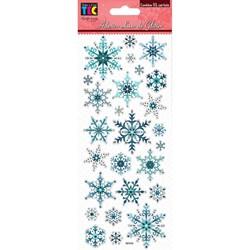 Luxo De Glitter Toke e Crie 17555 - Floco De Neve