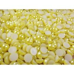 Meia Pérola 10mm Amarelo (MEI028) - Embalagem com 95grs