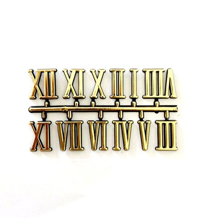 Número Arabico para Relógio 16mm Dourado