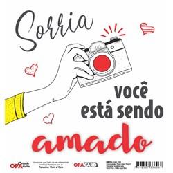 OPACARD Folha para Scrap Dupla Face - 15x15cm 2748 Amor 4