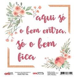OPACARD Folha para Scrap Dupla Face - 15x15cm 2756 Flores 3