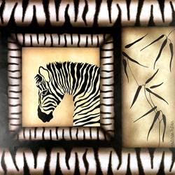 Papel Atelier das Artes DEC-008 Zebra