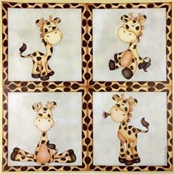 Papel Atelier das Artes INF-004 Girafa baby