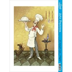 Papel para Arte Francesa Litoarte AF-017 Gourmet