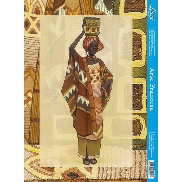 Papel para Arte Francesa Litoarte AF-026 Africana