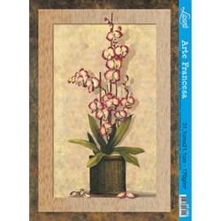 Papel para Arte Francesa Litoarte AF-085 Flores II