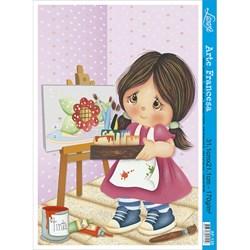 Papel para Arte Francesa Litoarte AF-138 Infantil