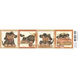 Papel para Arte Francesa Litoarte AFE-001 Cachorro