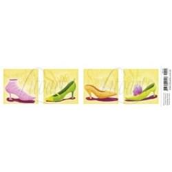 Papel para Arte Francesa Litoarte AFE-003 Sapatos