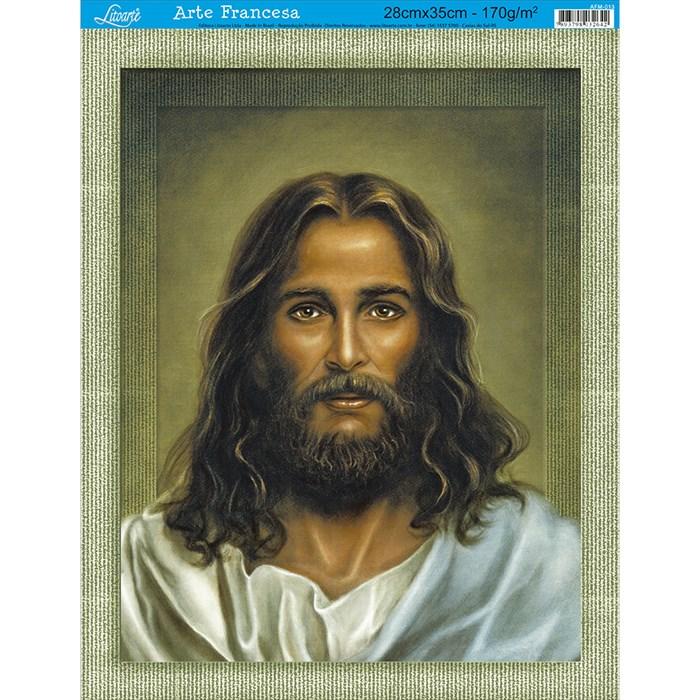 Papel para Arte Francesa Média Litoarte AFM-013 Jesus Cristo I