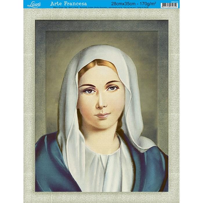 Papel para Arte Francesa Média Litoarte AFM-014 Nossa Sra. I