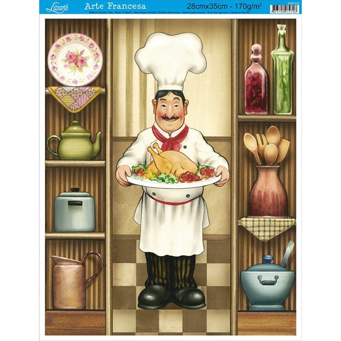 Papel para Arte Francesa Média Litoarte AFM-037 Gourmet
