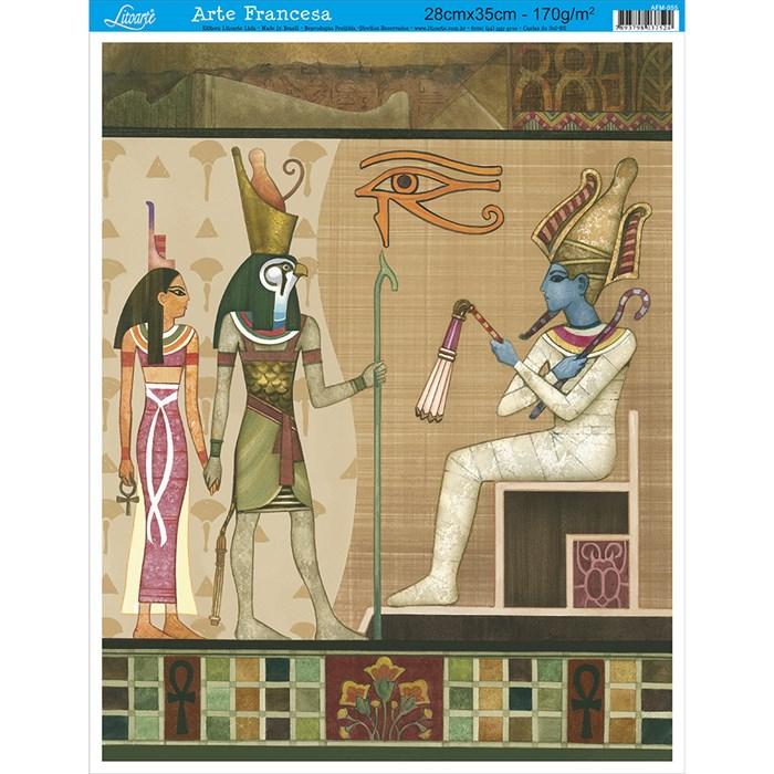 Papel para Arte Francesa Média Litoarte AFM-055 Egito