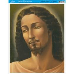 Papel para Arte Francesa Média Litoarte AFM-056 Jesus Cristo II