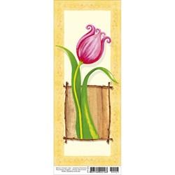 Papel para Arte Francesa Pequena Litoarte AFP-025 Flor