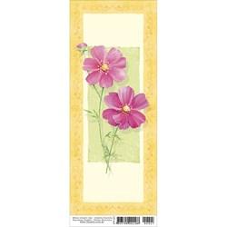 Papel para Arte Francesa Pequena Litoarte AFP-027 Flores