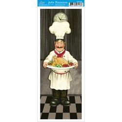 Papel para Arte Francesa Pequena Litoarte AFP-056 Gourmet