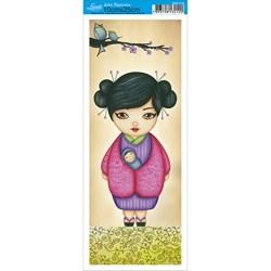 Papel para Arte Francesa Pequena Litoarte AFP-112 Oriental 3