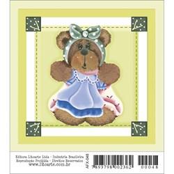 Papel para Arte Francesa Quadrado Litoarte AFX-048 Urso
