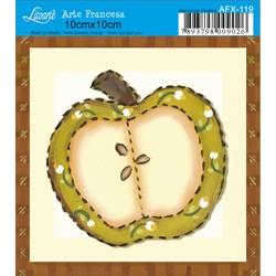 Papel para Arte Francesa Quadrado Litoarte AFX-119 Maçã Country