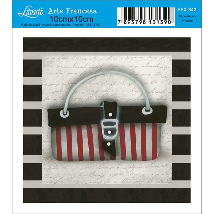 Papel para Arte Francesa Quadrado Litoarte AFX-342 Bolsa