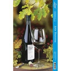 Papel para Arte  Francesa Vertical Litoarte AFV-003 Vinho