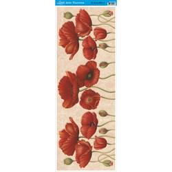 Papel para Arte Francesa Vertical Litoarte AFVE-033 Flores