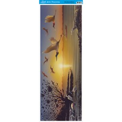 Papel para Arte Francesa Vertical Litoarte AFVE-038 PASSAROS