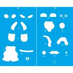 Papel para Decoupage 3D Litoarte com Glitter Natal DG3N-012