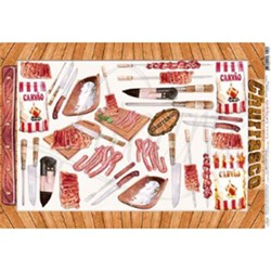 Papel para Decoupage Litoarte PD-081 Churrasco