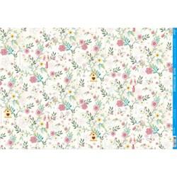 *Papel para Decoupage Litoarte PD-1011 Flores