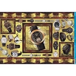 Papel para Decoupage Litoarte PD-408 Relógio Masc.