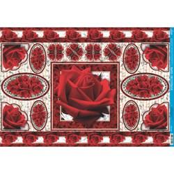 *Papel para Decoupage Litoarte PD-418 Rosas