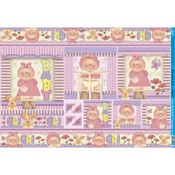 Papel para Decoupage Litoarte PD-534 Baby Girl