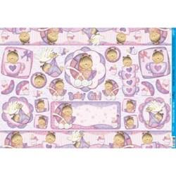 *Papel para Decoupage Litoarte PD-591 Baby Girl