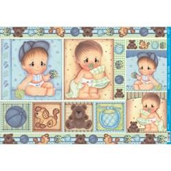 Papel para Decoupage Litoarte PD-596 Baby Boy