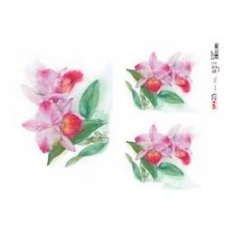 Papel para Decoupage Opa OPAPEL - 2379 Flor Orquídea