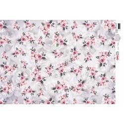 Papel para Decoupage Opa OPAPEL - 2811 Estampa Flores Rosas