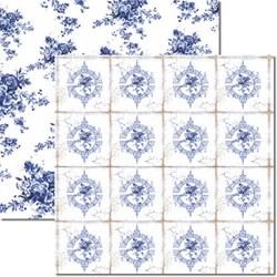 Papel para Scrap Arte Fácil Dupla Face SC-265 Azulejo Português 2