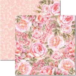 Papel para Scrap Arte Fácil Dupla Face SC-471 Rose e Mint V