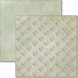 Papel para Scrap Dupla Face Arte Fácil SC-039 Flores e Pássaros
