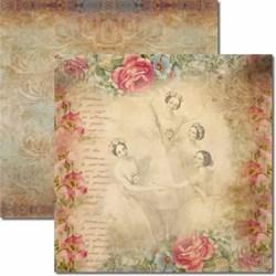 *Papel para Scrap Dupla Face Arte Fácil SC-049 Trio de Bailarinas