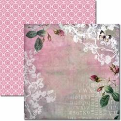 *Papel para Scrap Dupla Face Arte Fácil SC-086 Flores 5