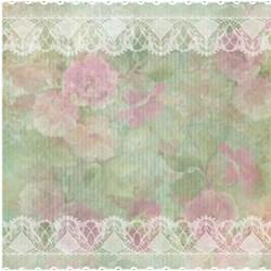 *Papel para Scrap Dupla Face Arte Fácil SC-245 Flores e Pássaros 3