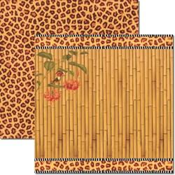 *Papel para Scrap Dupla Face Arte Fácil SC-307 Nature 5