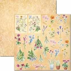 Papel para Scrap Dupla Face Arte Fácil  SC-659 Botânica 5
